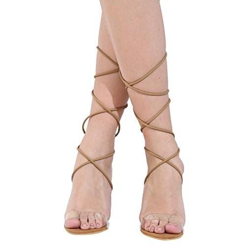 Klaur Melbourne Beige Synthetic Leather Sandals