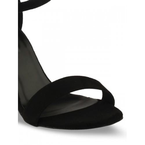 20Dresses Women Black Printed Sandals