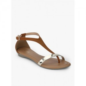 Lavie T-strap Flat Sandals