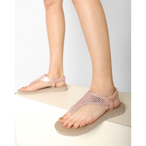 Buy Skechers T-strap Sling Back Flat
