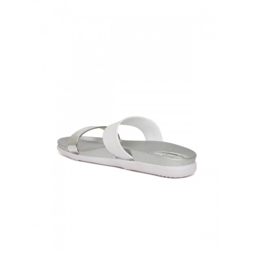 Carlton London Slip-On Sandals with Mid-Foot Strap