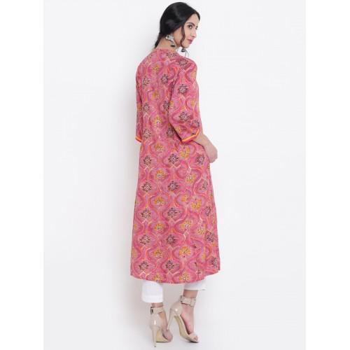 Shree Pink Printed Kurta