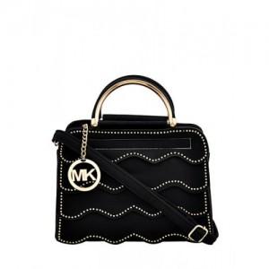 Mark Keith Women Black Handbag Mbg 0491