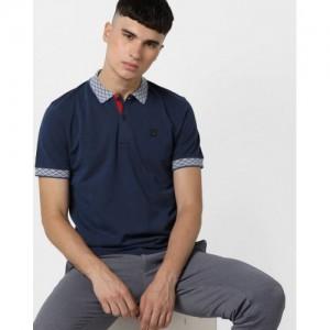 FILA Textured Slim Fit Nathan Polo T-shirt