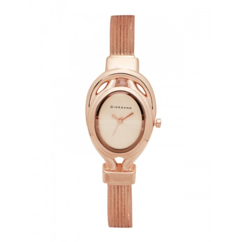 GIORDANO Women Gold-Toned Analogue Watch C2050-22