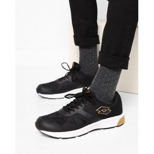 LOTTO Highrun Textured Mesh Running Shoes