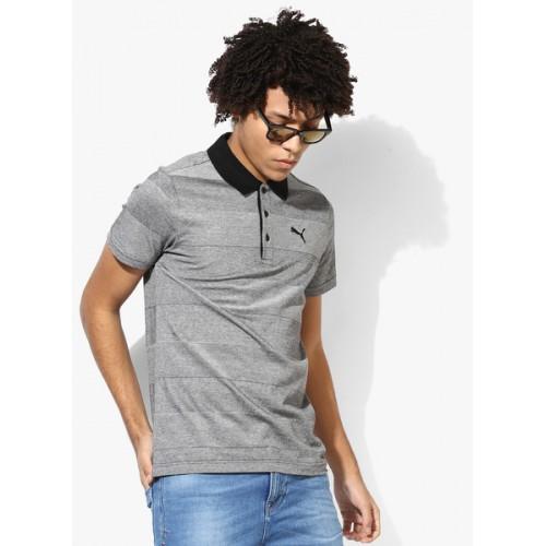 Puma Rugby Striped Polo T-shirt