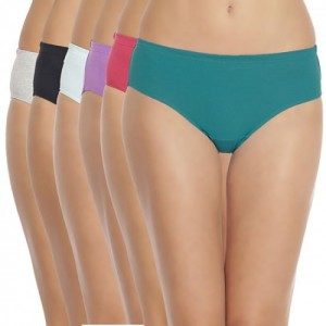Soie Organic Cotton High Rise Panty Pack of 6