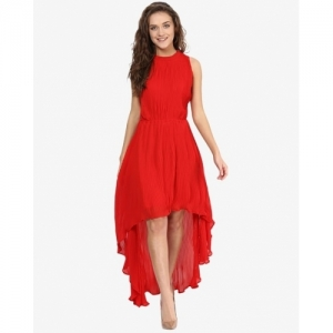 Miss Chase Women's Georgette High-Low Dress