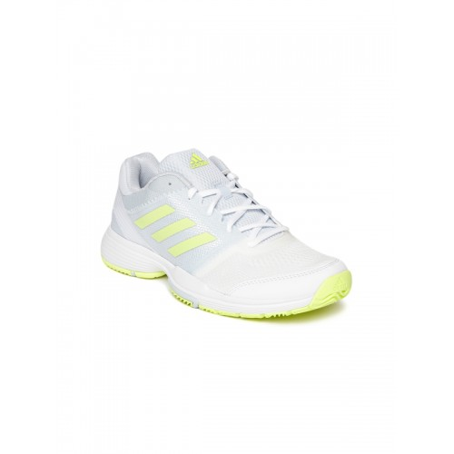 159fd741573 Buy Adidas Women Blue   White BARRICADE CLUB Tennis Shoes online ...