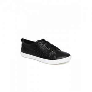 a20a2935454 Buy NIKE Racquette  17 Black Genuine Leather Slip-On Sneakers online ...