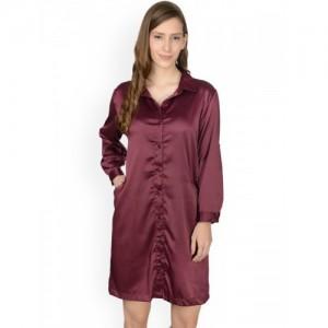 02737b9fc9 Buy Mystere Paris Orange   Blue Checked Sleep Shirt C123B online ...