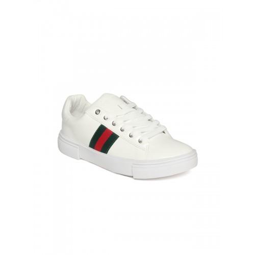 Buy Lee Cooper White Casual Sneakers