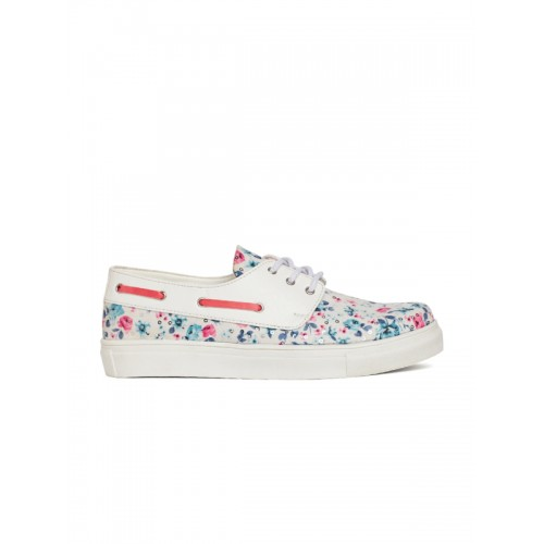 Marc Loire White Casual Sneakers