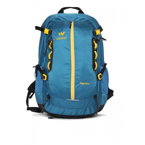 Wildcraft Unisex Blue Brand Logo Eiger 45 Pro Rucksack
