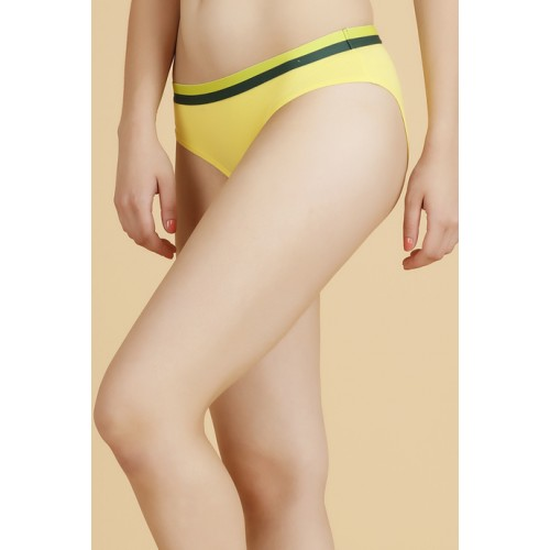 b6c7f16af00 ... Zivame Zivame Cotton Print n Solid Hipster Panty (Pack of 2)- Yellow n  ...