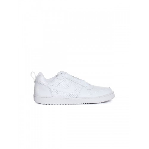 Nike Court Borough Low White Sneakers