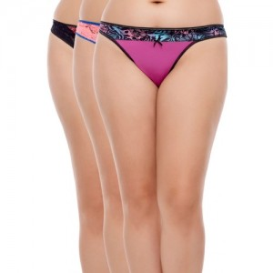 Zivame Zivame Pack Of 3 Briefs - Assorted