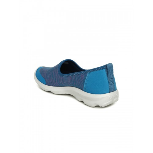 Crocs Busy Day Heather Skimmer Blue Casual Sneakers
