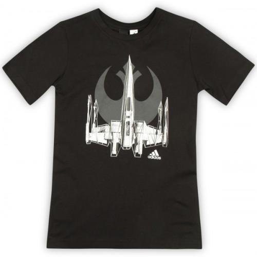 ADIDAS Boy's Printed Cotton T Shirt