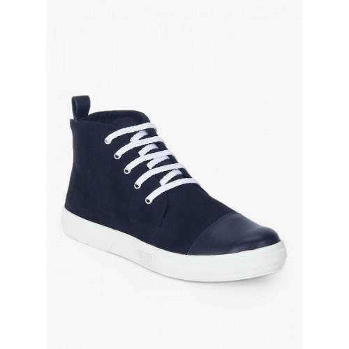 Carlton London Navy Blue Casual Sneakers