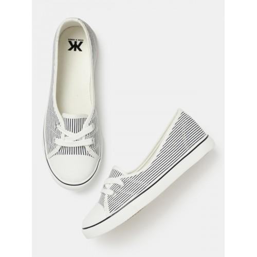 f3701729656 Buy Kook N Keech Women Navy   White Sneakers online