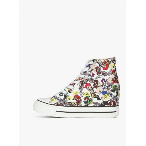 Carlton London Multicoloured Floral Casual Sneakers