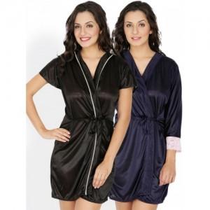 Klamotten Pack of 2 Robes 211K-209N