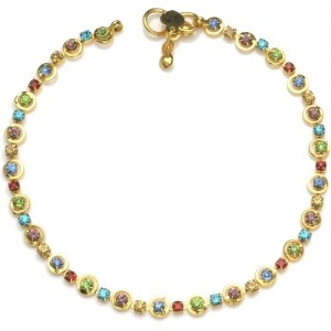 High Trendz Golden Ritz Alloy Anklet