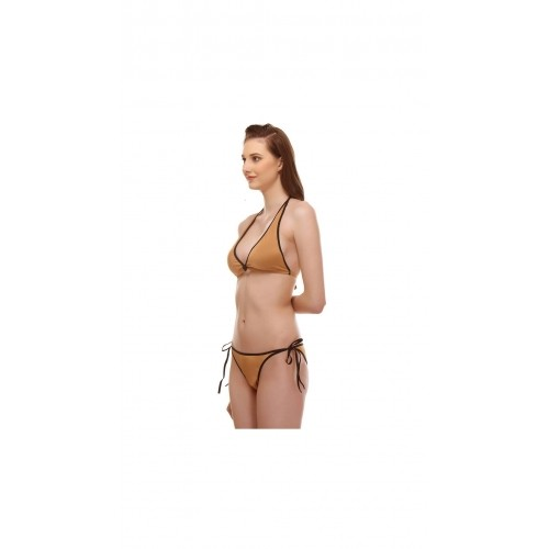 Aruba Golden Lycra Bikini Set