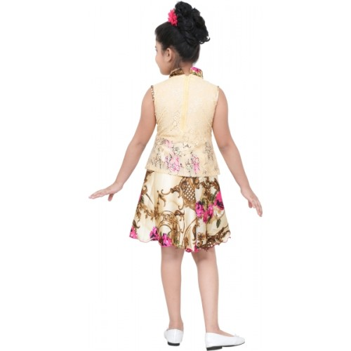 stylokids Girls Midi/Knee Length Party Dress