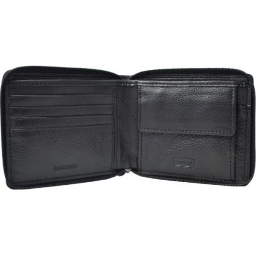 Levi's Black  Leather Men's Wallet (37541-0119)