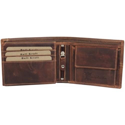 Bull Kraft Men Brown Genuine Leather Wallet