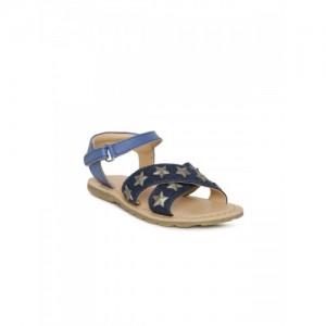 Aria Nica Girls Blue Tara Comfort Sandals