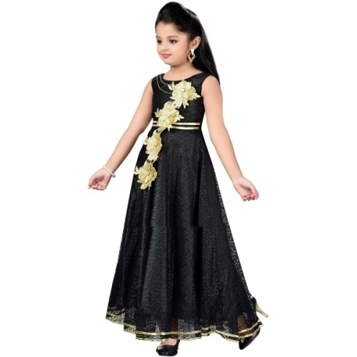 995abd8f7ab Buy Aarika Black Polyester Party Wear Ball Gown online | Looksgud.in