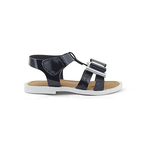 Kittens Girls Black Synthetic Sandals