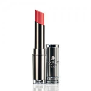 Lakme Absolute Matte Lipstick, Peach Pout, 3.7 g