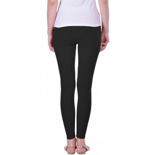 f1691a7607052 Buy Lux Lyra Black Cotton Legging online | Looksgud.in