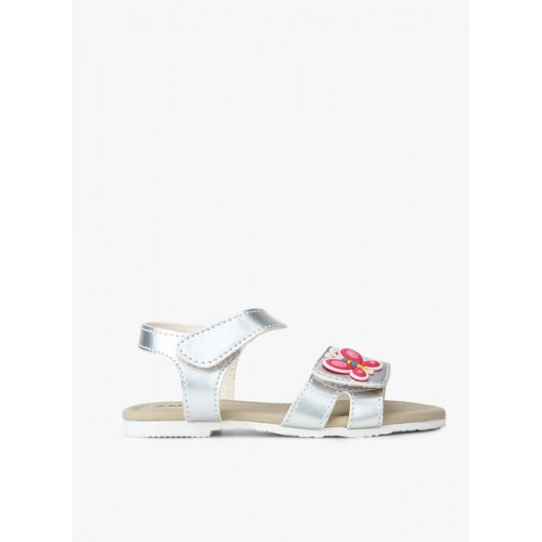 Kittens Silver Metallic Sandals