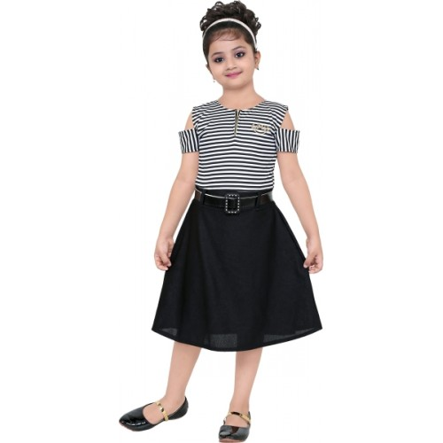 1cf3babae02 Buy FTC FASHIONS Girls Midi/Knee Length Party Dress online ...