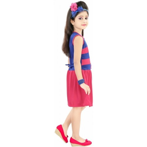 99ebb4cc77a7 Buy Style Junction Girls Midi/Knee Length Casual Dress online ...
