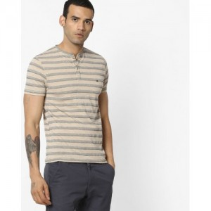 Fort Collins Striped Henley T-shirt