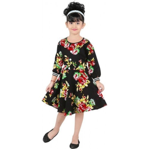 b26d0651afc Buy FTC FASHIONS Girls Midi/Knee Length Casual Dress online ...