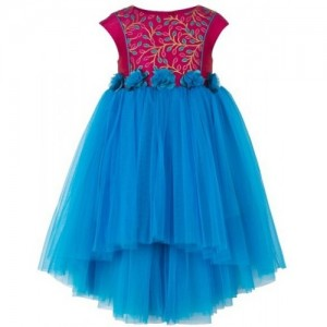 Toy Balloon Kids Girls Midi/Knee Length Party Dress