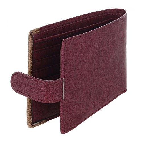 MarkQues Percy Red Mens Wallet(PER-440720)