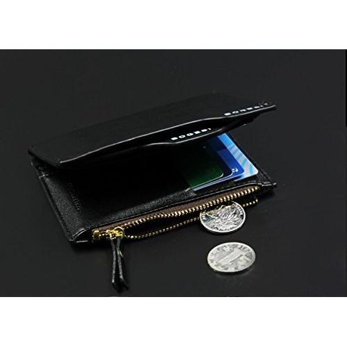 Evana Bogesi Premium Bifold Leather Men's Wallet (Black)