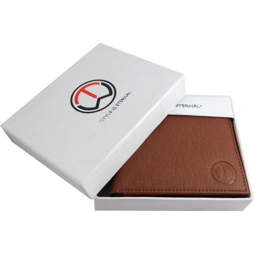 TnW Men Tan Artificial Leather Wallet