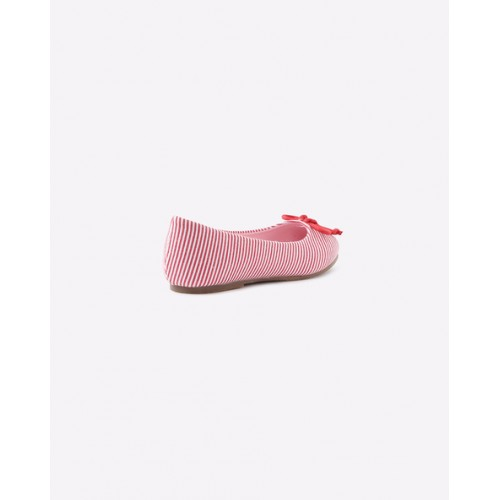 UNITED COLORS OF BENETTON Striped Ballerinas with Bow