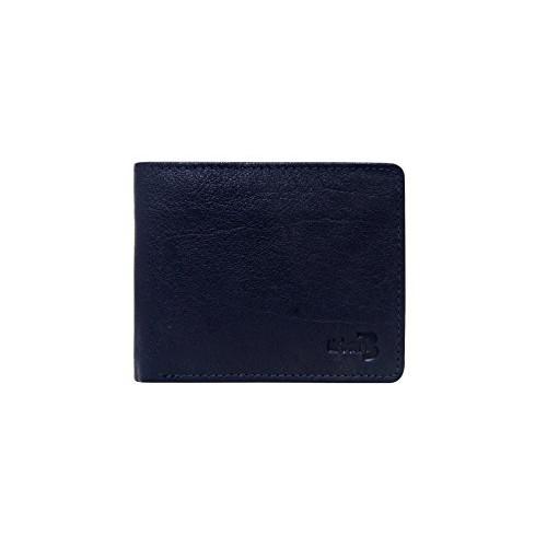 Urban Bull Dark Navy Men's Bi-Fold Wallet