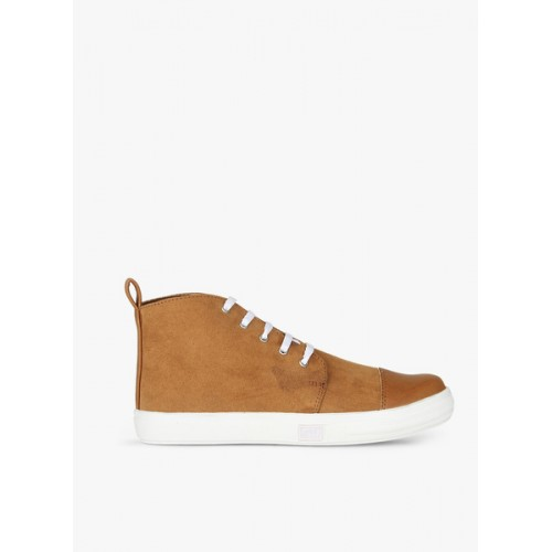 Carlton London Tan Casual Sneakers